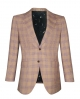 Suit Avenue Slim Fit Taupe Plaid
