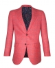 Suit Avenue Slim Fit Red Windowpane Blazer